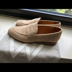 Shoes - Tan suede loafers